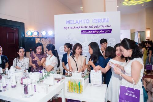 Các dòng sản phẩm trưng bày tại sự kiện đã nhận được sự quan tâm đặc biệt của đông đảo khách mời.