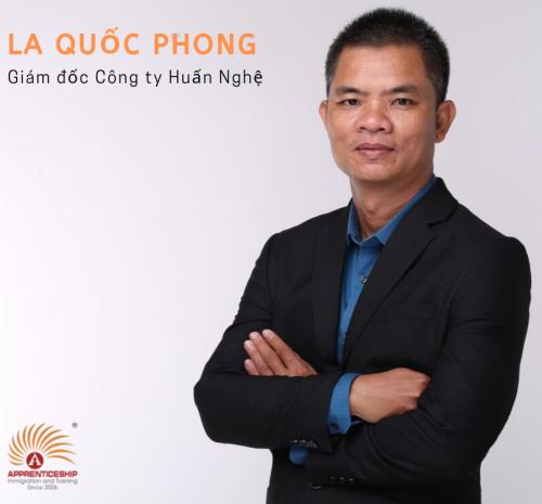 Ông La Quốc Phong - Giám đốc Công ty Huấn Nghệ là một trong những nhân vật quan trọng sẽ có mặt tại hội thảo.