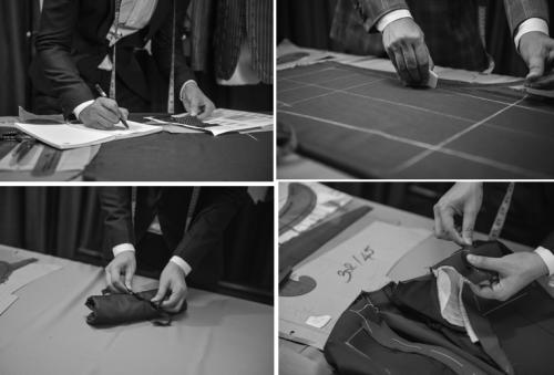 Từng sản phẩm của Veston Duy Nguyễn, nay là Duy Nguyễn Group đều được làm thủ công từ quá trình thiết kế, chọn lựa vải, cắt may.