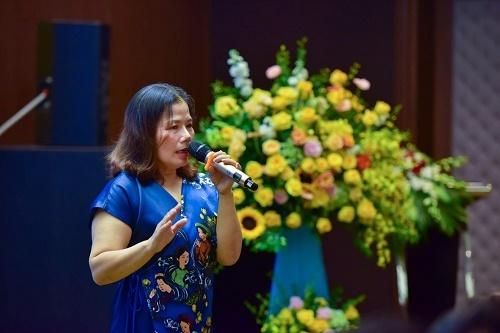 Bà Nguyễn Thị Minh Phượng - Phó Tổng Giám đốc PPC An Thịnh chia sẻ về Dự án