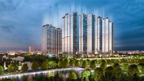 Sunshine City Sài Gòn, một trong những dự ăn căn hộ cao cấp có mức đầu tư lớn tại TP HCM.