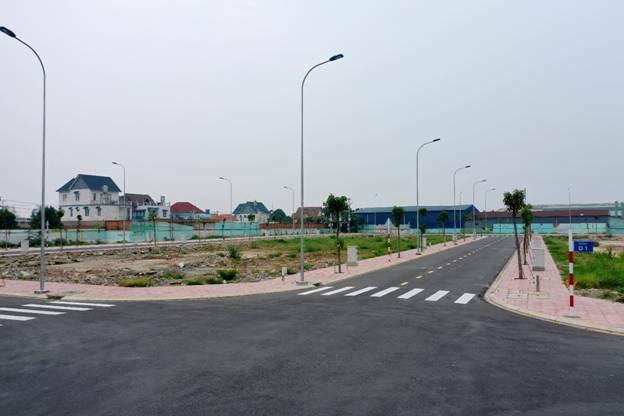 Hạ tầng cơ bản tại dự án đất nền Thuận An Central.