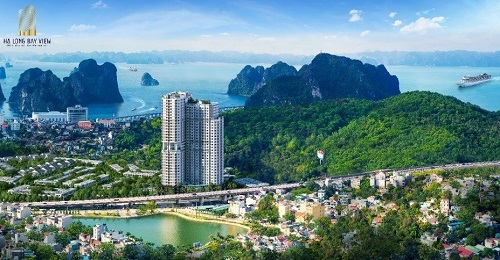 Phối cảnh dự án căn hộ dịch vụ khách sạn Ramada by Wyndham Hạ Long Bay View  Bất động sản Quảng Ninh bứt tốc nhờ các 'ông lớn' 2 1744 1570507641