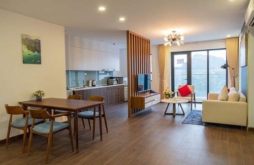 Ảnh chụp thực tế căn hộ mẫu dự án.  Bất động sản Quảng Ninh bứt tốc nhờ các 'ông lớn' 3 6728 1570507642