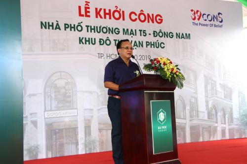 Ông Lê Văn Minh - Tổng giám đốc Tập đoàn bất động sản Đại Phúc.
