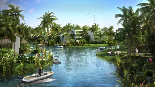 Dự án nằm trong khu dự trữ sinh quyển rừng dừa Bảy Mẫu.