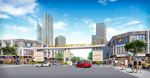 Tiềm năng đầu tư shophouse tại dự án Royal Market Town - ảnh 1