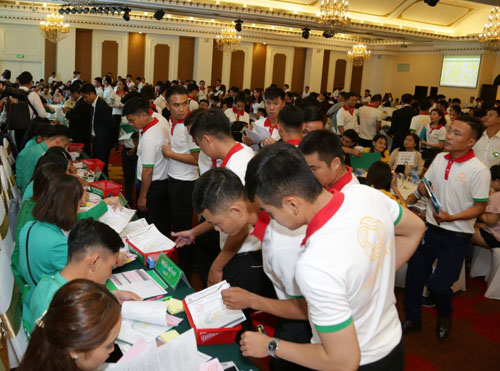 1.200 khách hàng dự lễ giới thiệu đợt 2 dự án Hana Garden Mall - ảnh 3