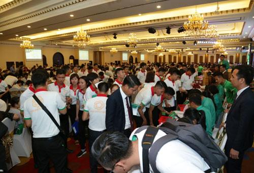 1.200 khách hàng dự lễ giới thiệu đợt 2 dự án Hana Garden Mall - ảnh 1