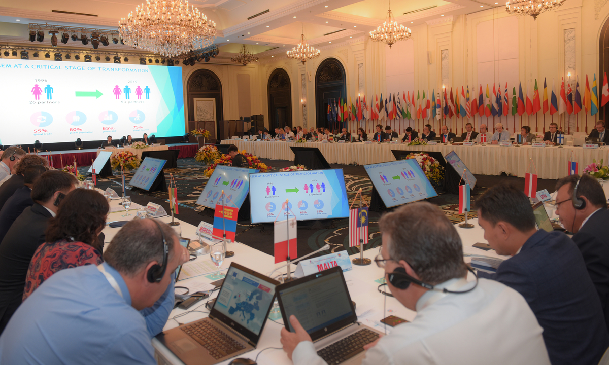 53 đoàn dự Hội nghị Tổng cục trưởng Hải quan ASEM