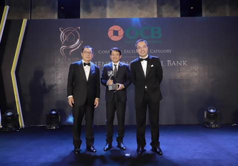OCB nhận giải thưởng doanh nghiệp xuất sắc châu Á - ảnh 1
