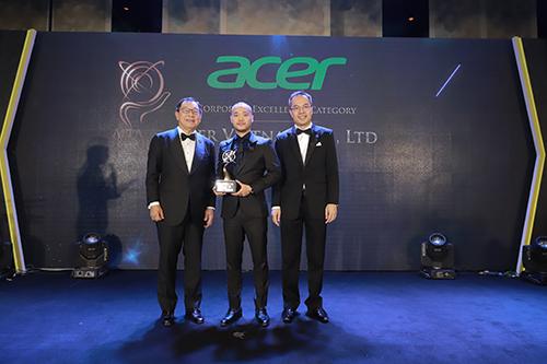 Acer Việt Nam nhận giải thưởng Doanh nghiệp xuất sắc châu Á - ảnh 1