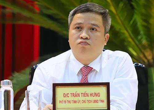 Ông Trần Tiến Hưng, Chủ tịch UBND tỉnh Hà Tĩnh. Ảnh: Đức Hùng