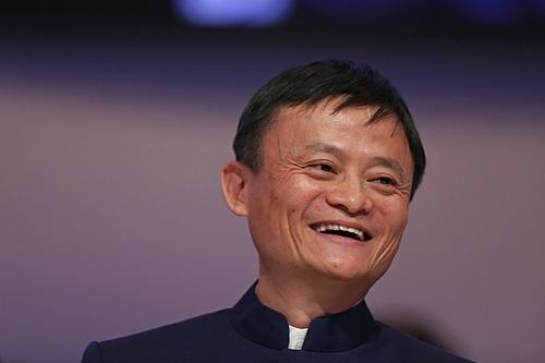 Nhà sáng lập Alibaba Jack Ma trong một sự kiện. Ảnh: Bloomberg