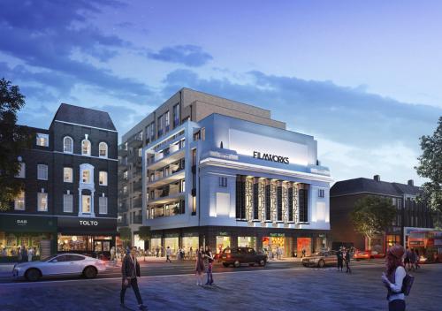 Dự án Filmworks nằm tạiphía Tây London.