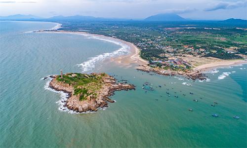 Vùng đất ven biển trải dọc Phan Thiết - Kê Gà - Lagi đang thu hút loạt dự án bất động sản.