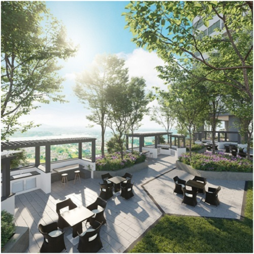 Park Kiara kế thừa thiết kế xanh của tổng khu đô thị với những khu vườn trên cao độc đáo  ParkCity Ha Noi ra mắt dự án chung cư mới Park Kiara 2 2769 1571108687