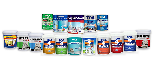 Các dòng sản phẩm của TOA Việt Nam.