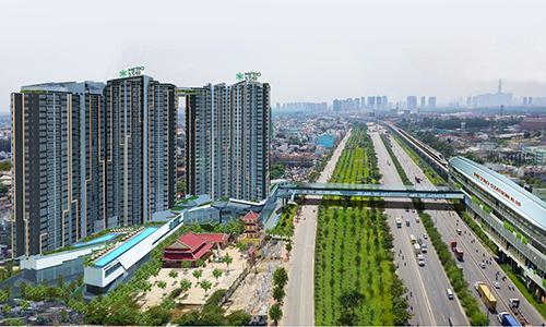 Dự án Metro Star ngay mặt tiền Xa lộ Hà Nội.