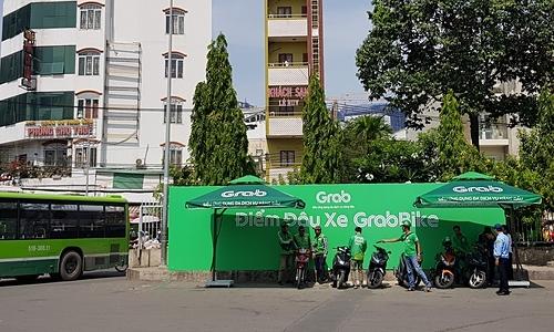 GrabBike 'đặt căn cứ' tại bến xe