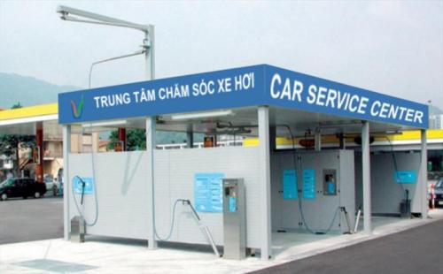 Trạm rửa xe tự động giảm thiểu ô nhiễm cho nội đô