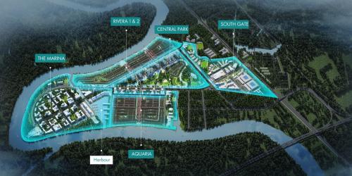 Giai đoạn I của Waterpoint, CĐT Nam Long mở bán phân khu Rivera 1 & Aquaria.