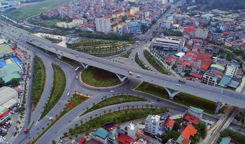 Dự án hạ tầng lớn nhất quận Long Biên là nút giao Long Biên - Nguyễn Văn Cừ
