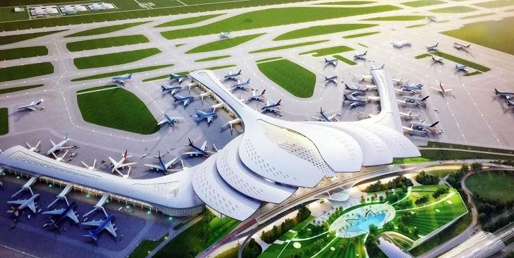 Phối cảnh sân bay Long Thành.  Bất động sản Đồng Nai hưởng lợi từ quy hoạch sdgdttrhy 4183 1571652646