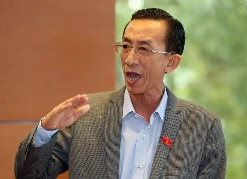 Ông Trần Hoàng Ngân - Giám đốc Học viện cán bộ TP HCM. Ảnh: PV