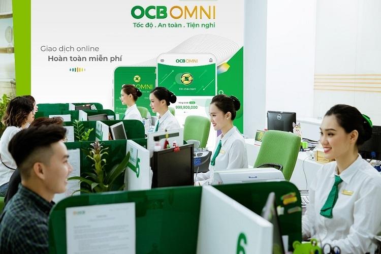 OCB đang trong top đầu thị trường về tăng trưởng lợi nhuận trong những năm gần đây.