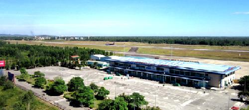 Những chuyến bay đến và đi từ sân bay Phú Bài thúc đẩy phát triểndu lịch Huế.