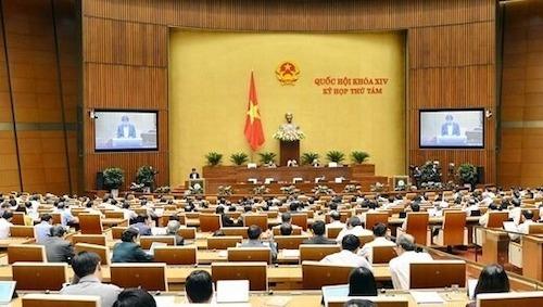 Quốc hội tiếp tục thảo luận kinh tế xã hội - ảnh 1