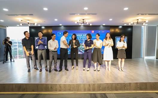 Đại diện lãnh đạo Cen Land và chủ đầu tư Bitexco Group tại sự kiện.
