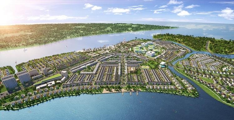 Phối cảnh phân khu The Elite thuộc dự án khu đô thị sinh thái thông minh Aqua City. GỬI LẠI HÌNH GIÚP EM NHÉ