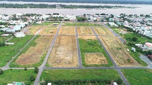 Đất nền tại dự ánStella Mega City.