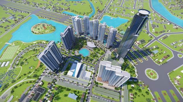 Phối cảnh toàn dự án Eco Green SaiGon