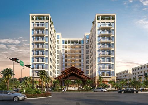 Phối cảnh Condotel Heritage Garden resort Phú Quoc – một trong số sản phẩm tại dự án