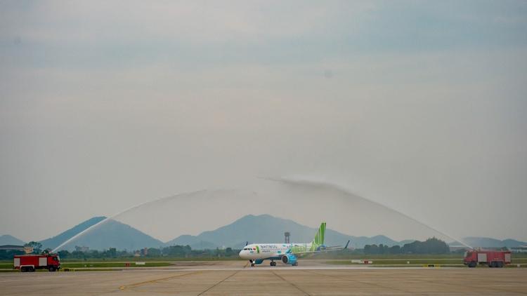 Bamboo Airways đón máy bay Airbus A320neo đầu tiên - ảnh 1