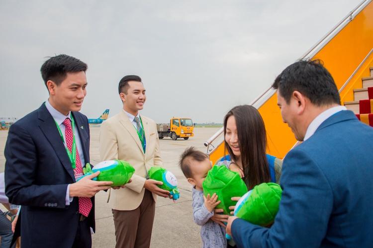 Bamboo Airways đón máy bay Airbus A320neo đầu tiên - ảnh 5