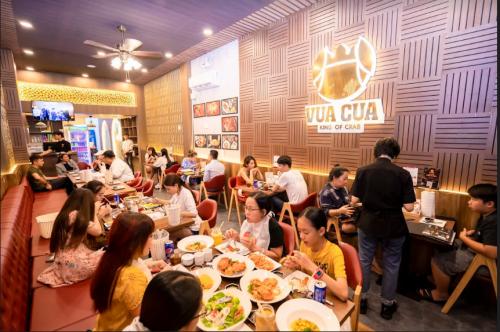 Nhà hàng Vua Cua mở chi nhánh thứ năm - ảnh 1