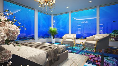 Hội An Golden Sea sở hữu nội thất dát vàng 24K.