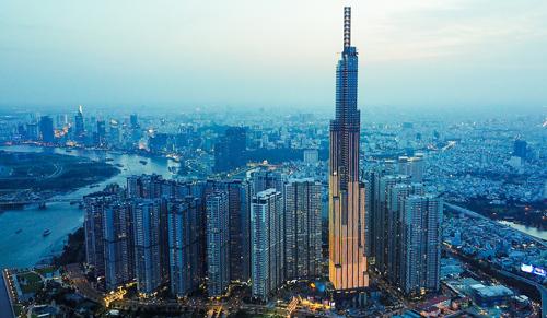 Một góc TP HCM nhìn từ trên cao. Ảnh: Vinhomes  Khách sạn cao cấp Hà Nội tăng hiệu suất landmark 81 9343 1573009710