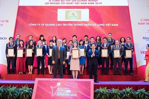Chicilon Media vào top 500 doanh nghiệp lợi nhuận tốt nhất Việt Nam 2019 - ảnh 1
