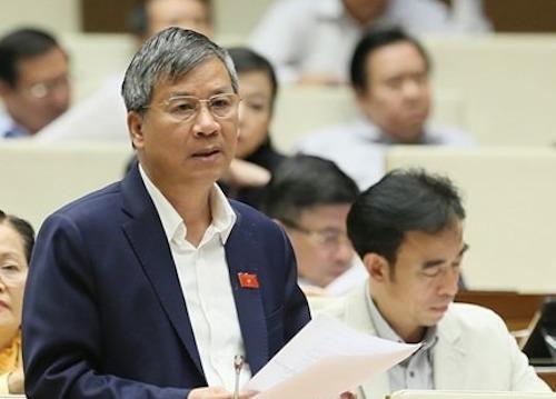 Ông Nguyễn Anh Trí - nguyên Viện trưởng Viện Huyết học truyền máu Trung ương. Ảnh: Ngọc Thắng
