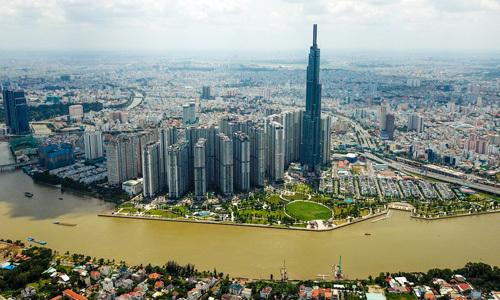 Thị trường nhà chung cư TP HCM. Ảnh: Trần Quỳnh  Giá rao bán nhà TP HCM tăng nhanh hơn Hà Nội a tb chung cu TQ 4494 1573315426