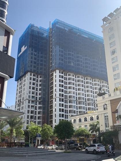 Dự án Hud Building trong giai đoạn hoàn thiện, chuẩn bị bàn giao.