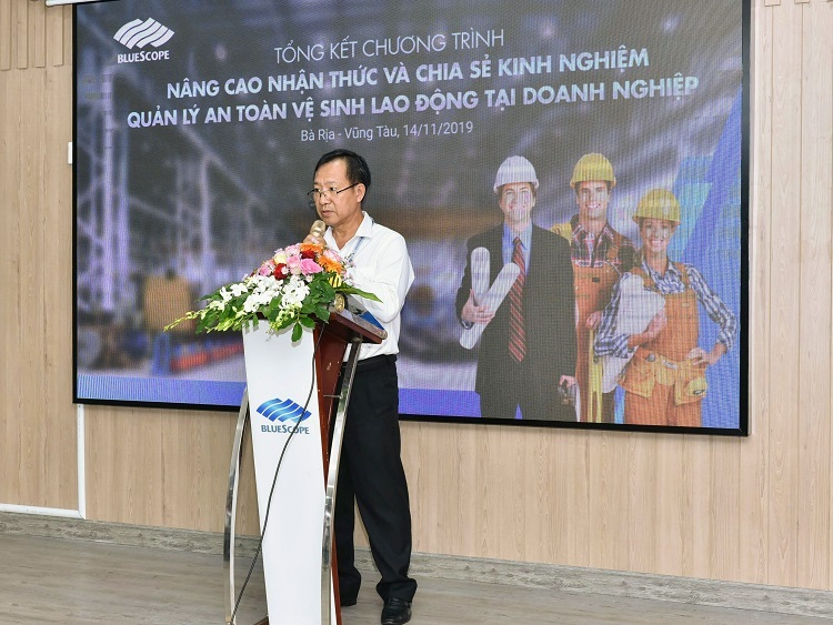 NS BlueScope Việt Nam chia sẻ kinh nghiệm quản lý an toàn lao động - ảnh 2