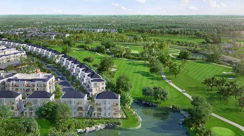 Long An sắp có quần thể biệt thự nghỉ dưỡng sân golf 200ha - ảnh 1