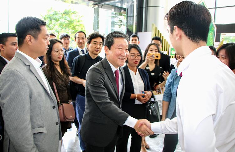 Tập đoàn Đại Phúc mở rộng hợp tác doanh nghiệp Hàn Quốc - ảnh 1