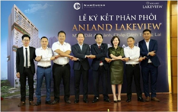 Tập đoàn Nam Cường ký kết phân phối dự án Anland Lakeview